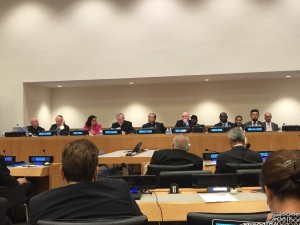 Discussion with the Holy See on religious freedom at the UN HQ in New York