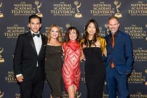 Left to Right: Dwayne Menezes (HSC), Danielle Turkov (Think Impact Film), Melanie Horkan (Producer, ME,MB), Ann Shin (Director, ME,MB), Jeffrey Bloom (Screenwriter, Director)